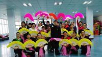 十堰东风52厂舞蹈班学员演绎《映山红》视频制作:散兴兰 正背面演示及慢速口令教学