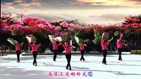 新疆舞之玲舞蹈队《映山红》编舞张惠萍 原创附正背面教学口令分解动作演示