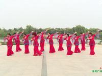 梦韵舞蹈 十送红军 表演【红歌】 正反面演示及分解动作教学