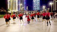 蝶舞芳香舞蹈《桃花运》演示:溪溪舞队 正背面口令分解动作教学演示