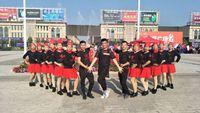 芷月飞扬舞蹈《北江美》编舞周周老师 正背面演示及口令分解动作教学和背面演