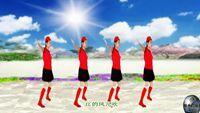 武汉周舟舞蹈(水兵舞)《北江美》 口令分解动作教学演示