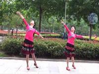念湘舞蹈 月亮女神 表演 双人版 正背面口令分解动作教学演示