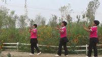 三姐妹舞蹈《北江美》{正反面} 正背面演示及口令分解动作教学和背面演