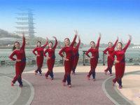 陜西華州小丫廣場舞 張燈結彩 表演 經典正背面演示及口令分解動作教學