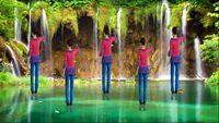 春之韵舞蹈《人生路》 经典正背面演示及口令分解动作教学