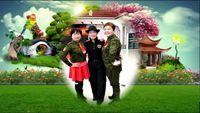 长江鑫都双人水兵舞 《北江美》表演 长江鑫都姐妹集 原创附教学口令分解动作演示