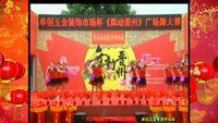 河北晉州炫麗玫瑰廣場舞參加比賽【張燈結彩】變隊形版 完整版演示及口令分解動作教學