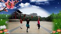 祁陽薩麗自娛廣場舞一舞曲∶《張燈結彩》 正背面演示及口令分解動作教學和背面演
