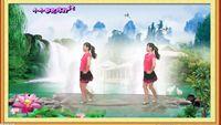 杭州花儿舞蹈《桃花运》入门恰恰 原创附正背面教学口令分解动作演示