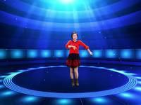新疆花儿舞蹈 今年最特别 表演 正背面演示及慢速口令教学