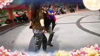 陕西省铜川市水兵舞协会未知表演团队版 正反面演示及分解动作教学
