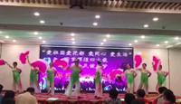 培英俏夕阳舞蹈队荞麦花表演团队版 正背面演示及口令分解动作教学和背面演