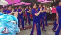 魅力旗袍秀表演团队版 正背面演示及慢速口令教学