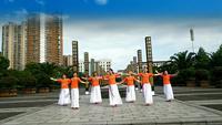 抚州和美舞蹈队心往故乡飞表演团队版 正背面演示及口令分解动作教学和背面演