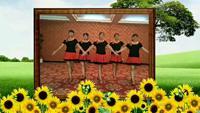 董家水仙花廣場舞∠※∠※《美觀》正背面演示及慢速口令教學