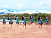 安徽芜湖飞翔舞蹈 阿妈的笑脸 正背表演与动作分解 正背面演示及慢速口令教学