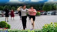 湖南长沙弘欣公寓健身未知表演双人版 正背面口令分解动作教学演示