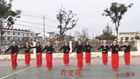 岱山湖舞蹈隊蕎麥花表演團隊版 原創附教學口令分解動作演示