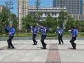 神韵男子队 原创广场舞美丽大草原 附口令分解与背面示范