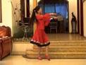 达州凤凰姊妹广场舞 圣洁的西藏 正反面演示