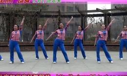 北京加州广场舞《让我们跳起来》编舞格格 团队演示 附背面教学分解
