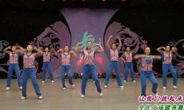 楊藝慧文廣場舞《小雞小雞》輕盈的舞步 柔美的舞姿