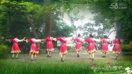 大湾群联广场舞《雪山草原的爱》原创舞蹈 附正背面口令分解教学演示