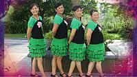 惠州市冷水坑广场舞《山花朵朵开》编舞阿娜 团队演示