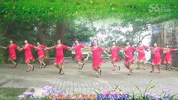 大湾群联广场舞《爱的火苗》原创舞蹈 附正背面口令分解教学演示