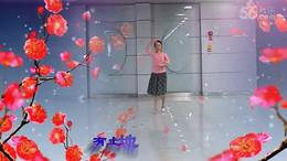 常青藤广场舞《梅花》原创舞蹈 正背面教学演示