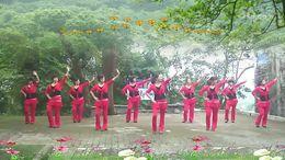 大湾群联广场舞《回首青春》原创舞蹈 附正背面口令分解教学演示