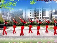重庆叶子广场舞《草原的月亮》原创舞蹈 附正背面口令分解教学演示