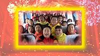 北京加州广场舞《好兆头》编舞格格 团队正背面演示