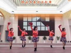 茉莉广场舞《跟着妈妈去跳舞》原创秧歌舞 附正背面口令分解教学演示
