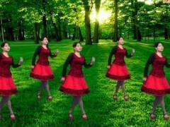 鄂州益馨廣場舞《秋風無情》原創舞蹈 附正背面口令分解教學演示
