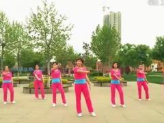 hehe+大众健身队《我爱爱爱爱爱着你》原创舞蹈 附正背面口令分解教学演示