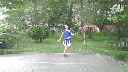 大湾群联广场舞《军中绿花》原创舞蹈 附正背面口令分解教学演示