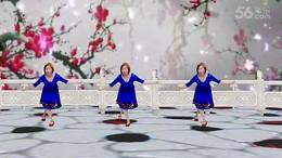 新疆花儿广场舞《跟你一辈子》原创舞蹈 正背面演示