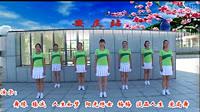 安庆小红人舞蹈《老妹你真美)编舞若相惜 团队正背面演示