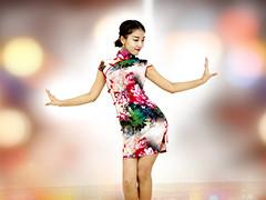 糖豆广场舞课堂《夜上海》编舞范范 附正背面口令分解教学演示