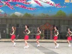 重庆叶子舞蹈《桃花运》原创舞蹈 附正背面口令分解教学演示
