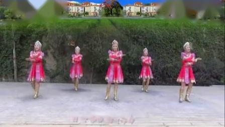 蘭州親水平臺蓮花廣場舞《草原的夏天》 完整版演示及分解教學演示