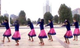 湘湘广场舞《雪山姑娘》编舞花语