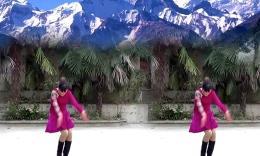 境心广场舞《雪山姑娘》编舞兴梅
