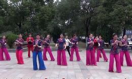 风清云淡广场舞《国韵》南昌舞友与王梅合舞 编舞:王梅