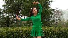 糖豆广场舞课堂《雪山姑娘》附正背面演示和茉莉慢速口令分解教学