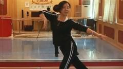 糖豆广场舞课堂《国韵》正背面演示和萱萱老师慢速口令分解教学