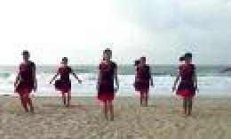 大湾群联广场舞《腾飞中国龙》原创舞蹈 附正背面分解教学演示
