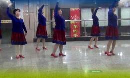 柯桥步行街永芳广场舞《草原的月亮》编舞応子